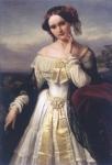 Mathilde Wesendonck um 1850